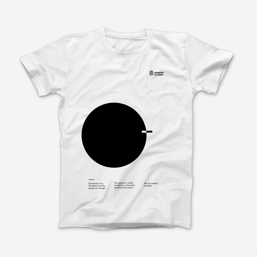 T-shirt – Black circle