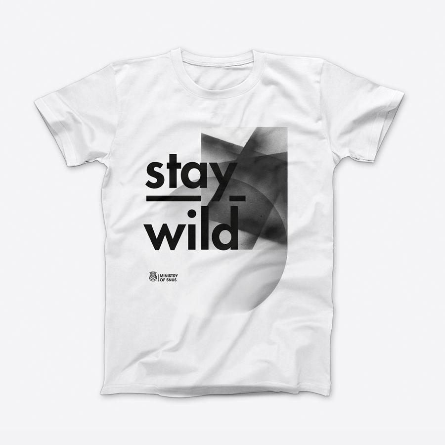 T-shirt – Stay Wild